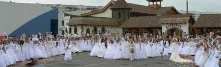 Парад невест в Орле 2009
