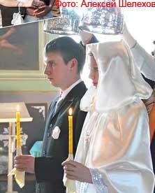 Венчание в церкви Орла